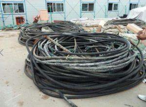 哈尔滨电线电缆回收,特种电缆回收